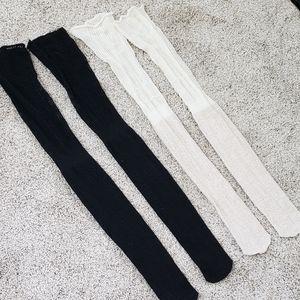 (2) UO thigh high sock bundle